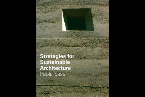 Strategies for Sustainable Architecture, by Paola Sassi